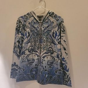 Style & Co Womens Hoodie Size M